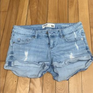 Garage flirty shorts size 5